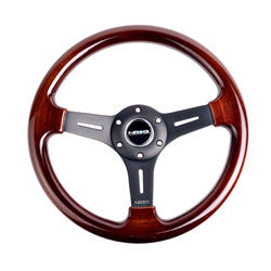 NRG Wood Grain Steering Wheel