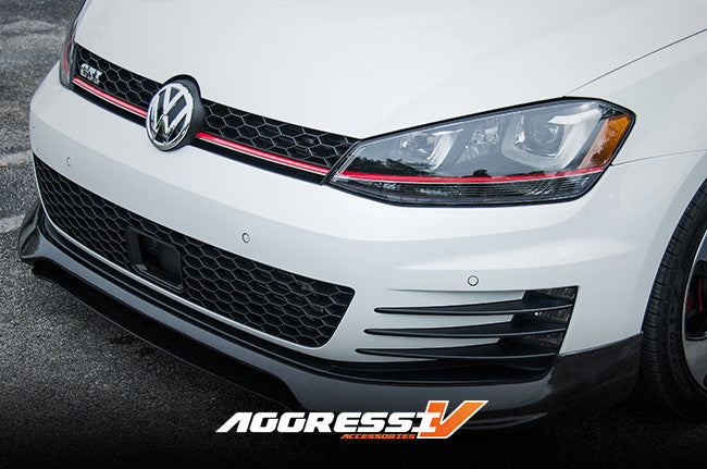 MK7 GTI Carbon Fiber Front Lip | Savage Chassis and Engineering