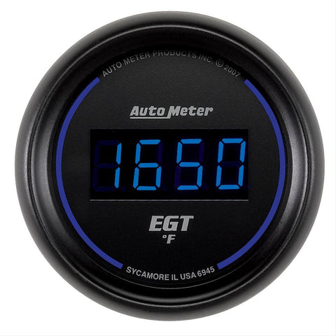 Autometer Cobalt Digital Series Exhaust Temperature Gauge
