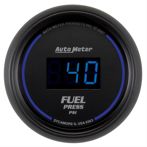 Autometer Cobalt Digital Series Fuel Pressure Gauge