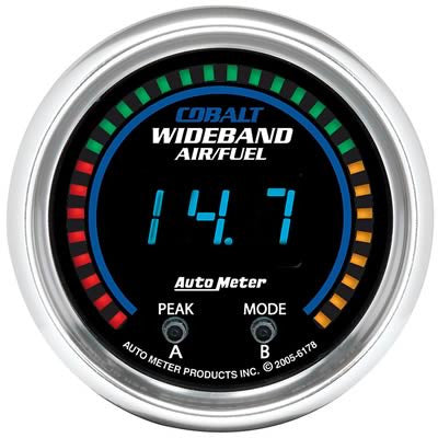 Autometer Cobalt Digital Series Wideband Air/Fuel Ratio Gauge