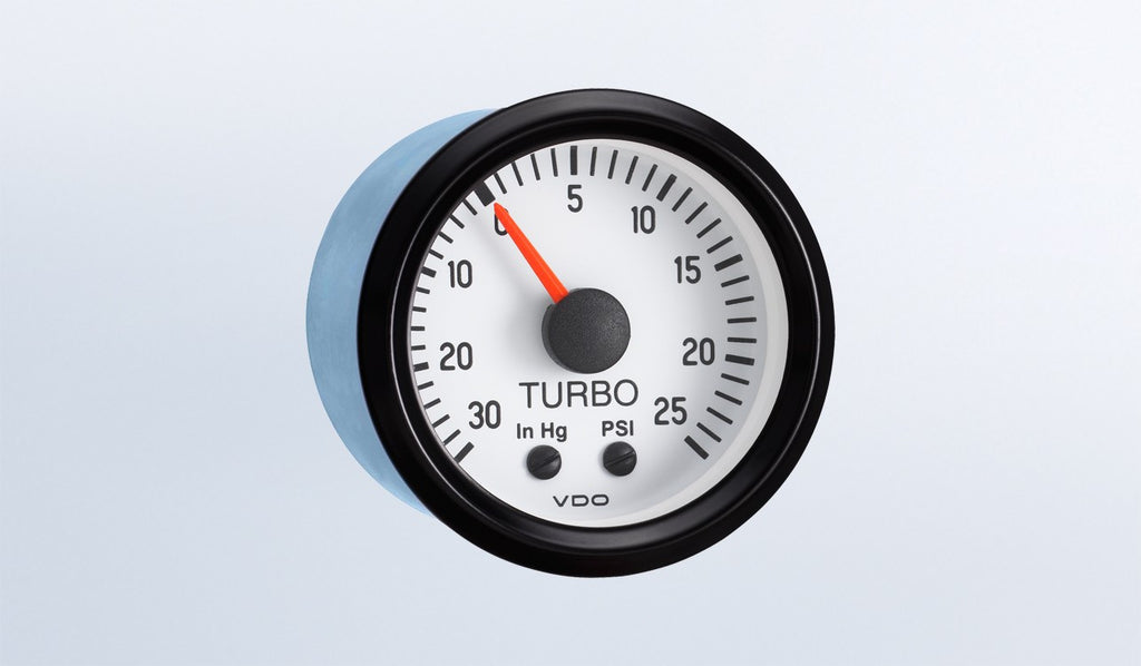 VDO Cockpit White Series Vacuum/Boost Gauge