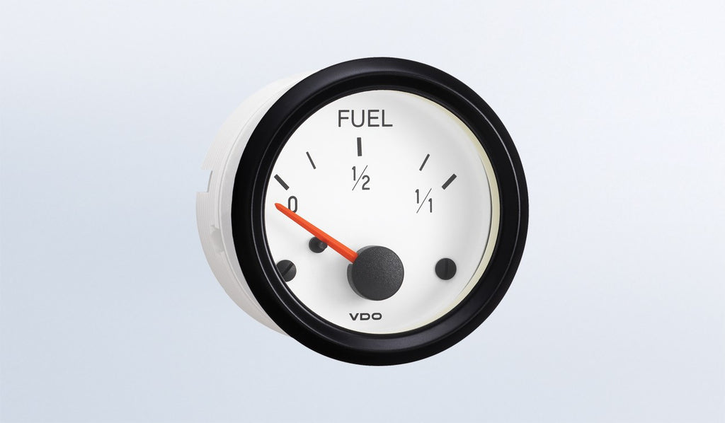 VDO Cockpit White Series Fuel Level Gauge