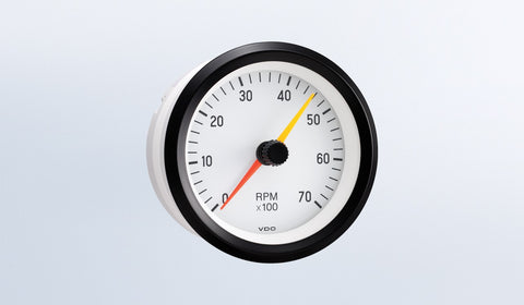 VDO Cockpit White Series Tachometer