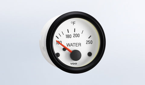 VDO Cockpit White Series Water Temperature Gauge