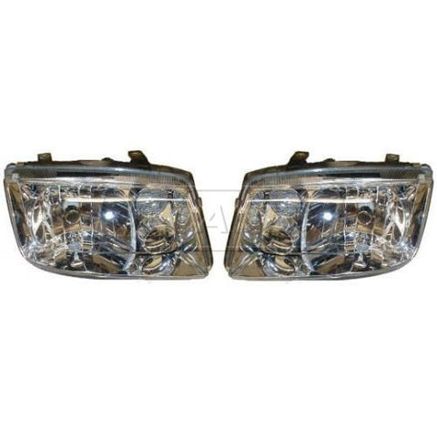 Mk4 Jetta OEM Headlight Pair