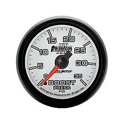 Autometer Phantom II Series Boost Gauge