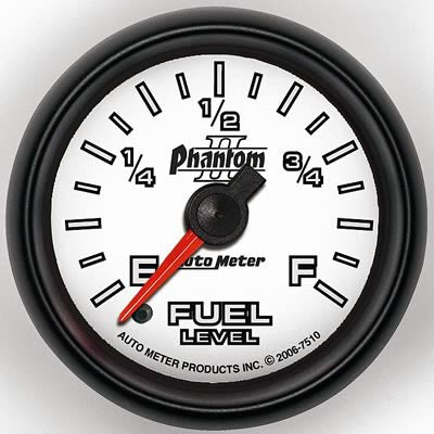 Autometer Phantom II Series Fuel Level Gauge