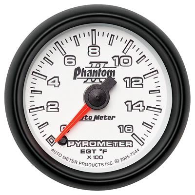Autometer Phantom II Series Fuel Pressure Gauge