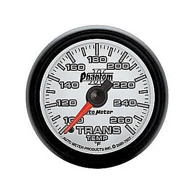 Autometer Phantom II Series Transmission Temperature Gauge