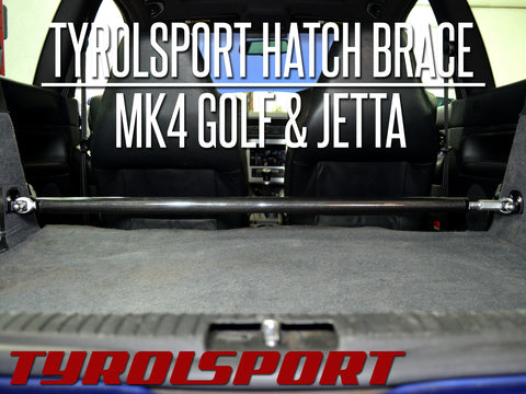 Tyrolsport Hatch Brace for Mk4 Golf & Jetta