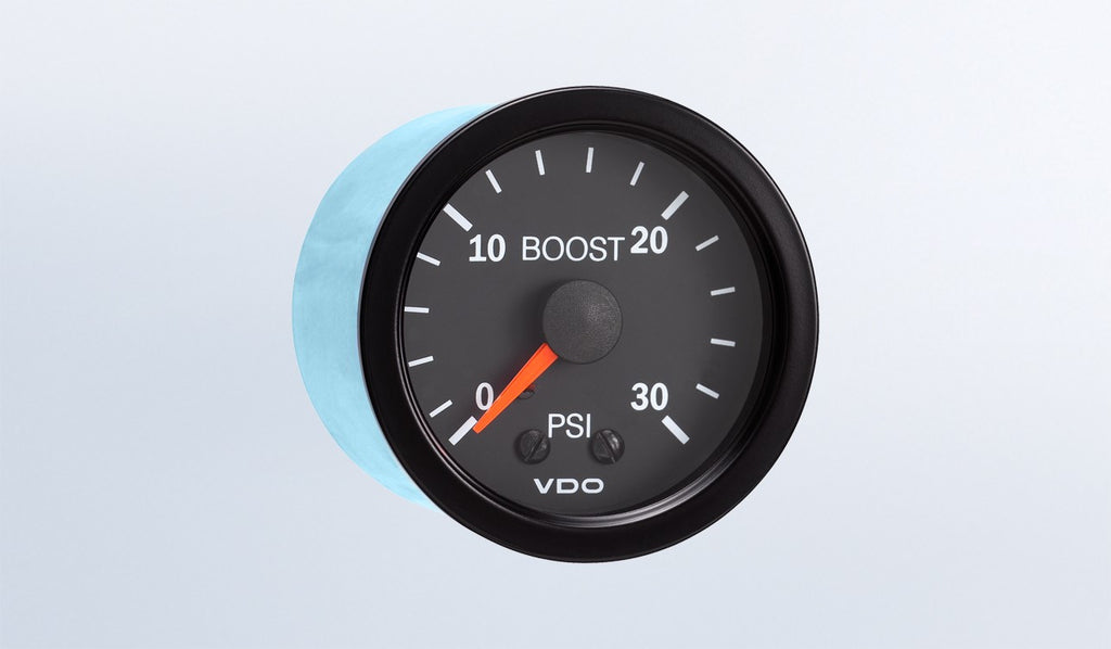 VDO Vision Series Boost Gauge