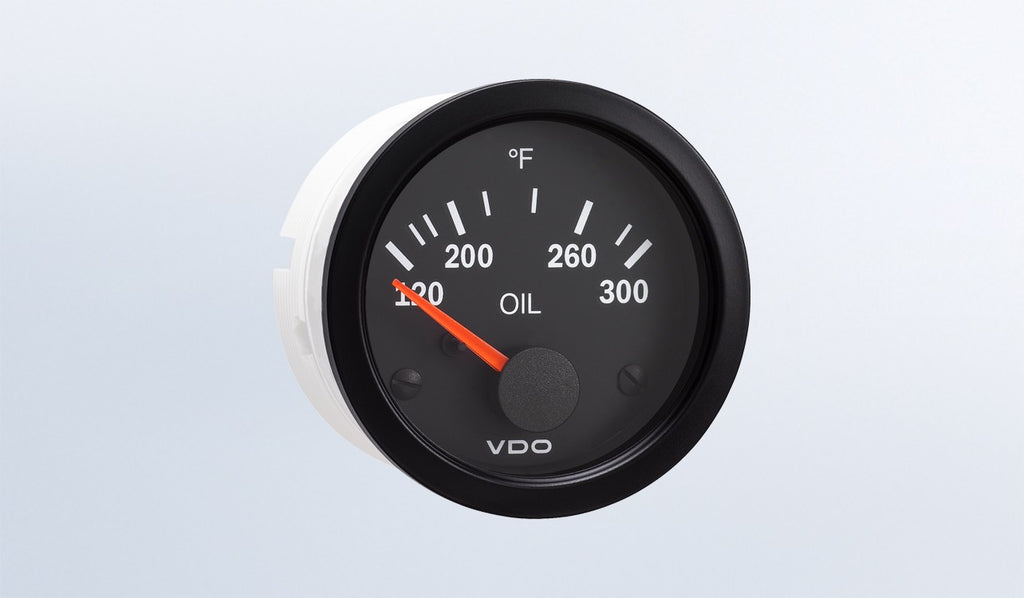 VDO Vision Series Oil Temperature Gauge