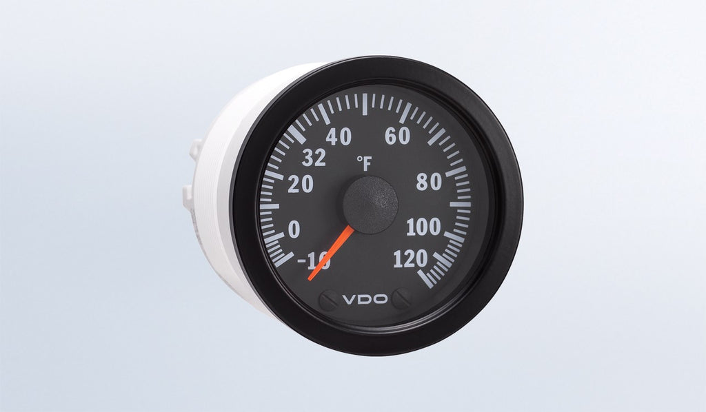 VDO Vision Series Outside Air Temperature Gauge