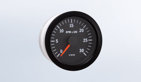 VDO Vision Series Tachometer (Diesel Engines)