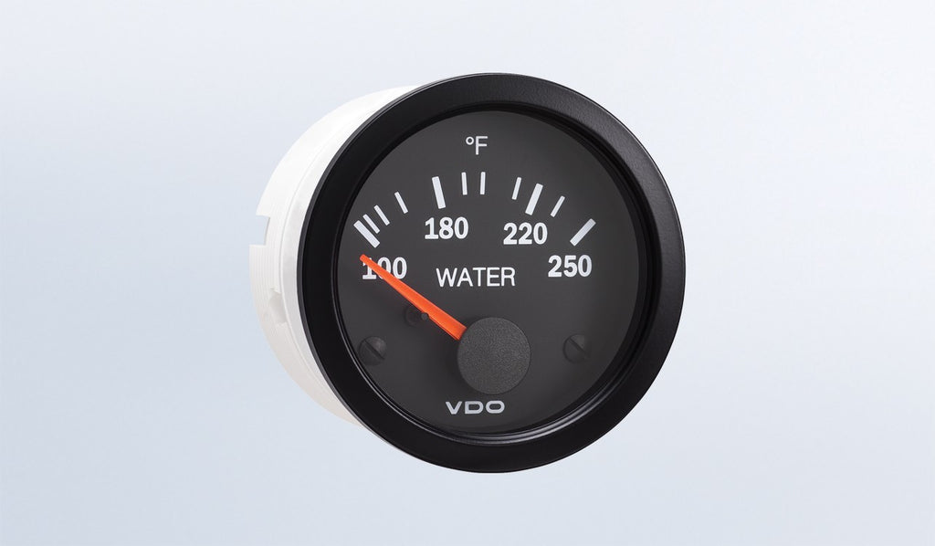 VDO Vision Series Water Temperature Gauge
