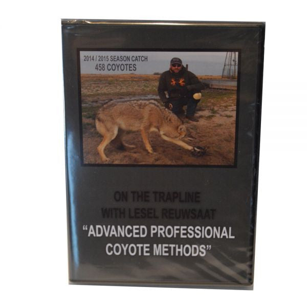 "Lesel Reuwsaat's ""Advanced Professional Coyote Methods"" DVD - Southern Snares & Supply"