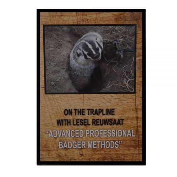 "Lesel Reuwsaat's ""Advanced Professional Badger Methods"" DVD - Southern Snares & Supply"