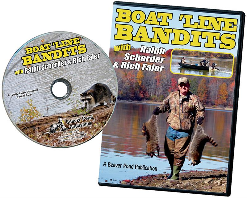 """Boat Line Bandits"" DVD with Ralph Scherder and Rich Faler"
