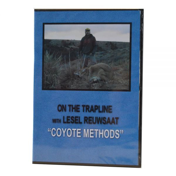 "Lesel Reuwsaat's ""Coyote Methods"" DVD - Southern Snares & Supply"