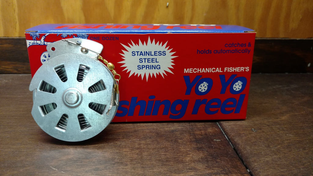 MECHANICAL SURVIVAL FISHING REEL