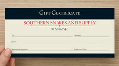 Gift Certificates - Southern Snares & Supply