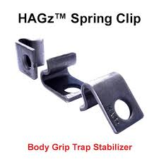 HAGz SPRING CLIPS CONIBEAR/BODY GRIP SUPPORT CLIP - Southern Snares & Supply