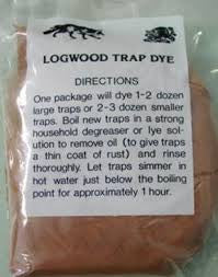 RED LOGWOOD TRAP DYE - Southern Snares & Supply