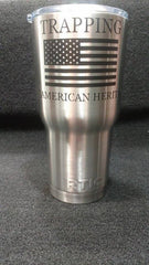 STAINLESS TRAPPERS MUGS FROM RTIC