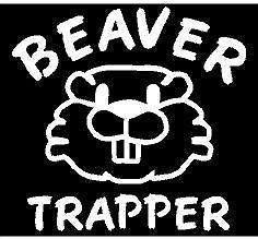 BEAVER TRAPPER DECAL