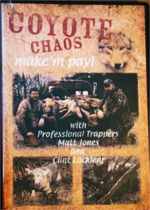 Predator Control Group's Coyote Chaos DVD Video