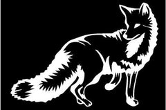 FOX DECAL - Southern Snares & Supply