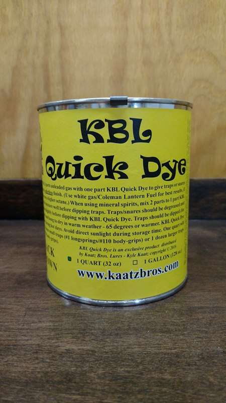 KBL QUICK DYE - Southern Snares & Supply