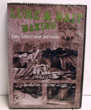 Clint Locklear's LURE & BAIT MAKING, tricks, tips and methods Video - Southern Snares & Supply