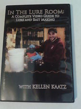In The Lure Room: Lure & Bait Making DVD with Kellen Kaatz - Southern Snares & Supply