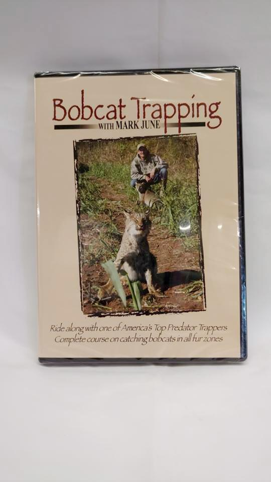 Bobcat Trapping with Mark June - DVD