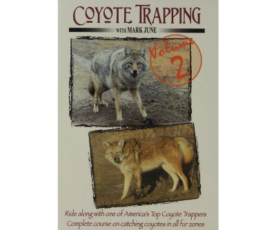 Coyote Trapping DVD/Video - Vol. 2
