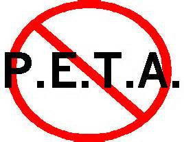 ANTI PETA DECAL
