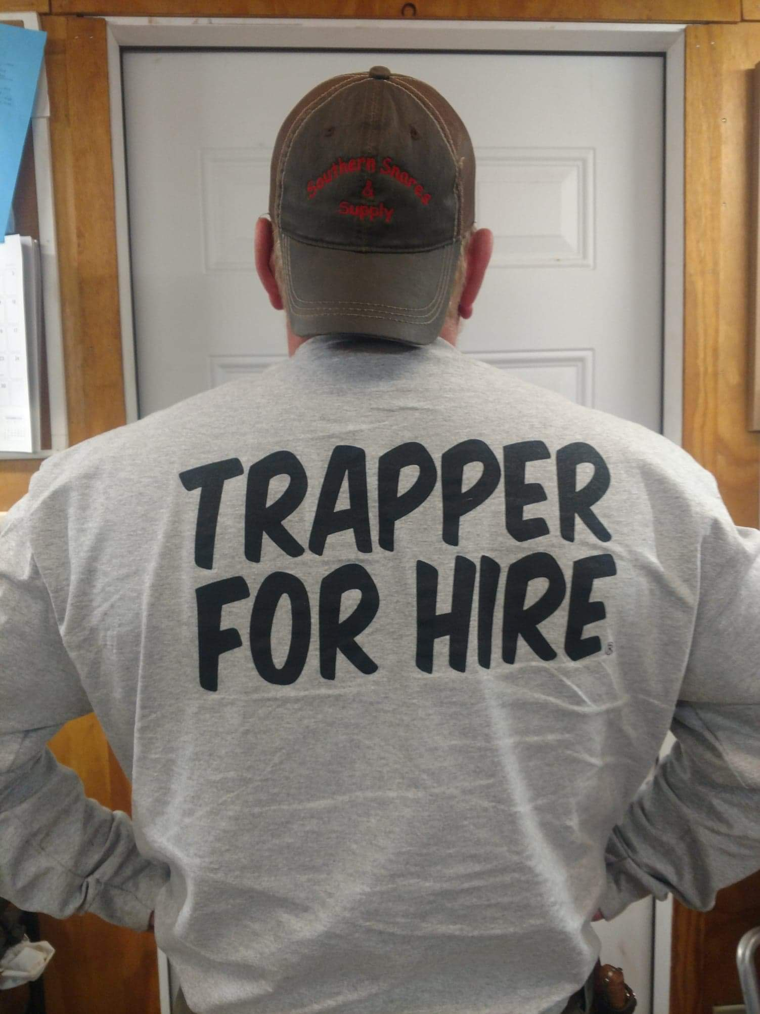 TRAPPER FOR HIRE SHIRT - Southern Snares & Supply