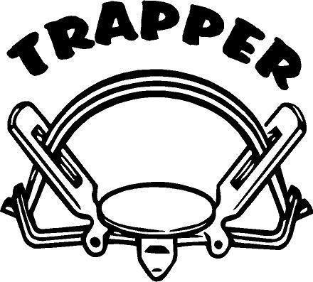 TRAPPER DECAL - Southern Snares & Supply