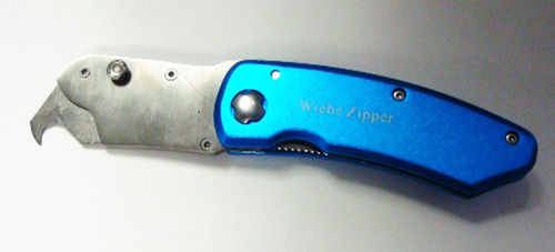 Wiebe Zipper Knife - Southern Snares & Supply