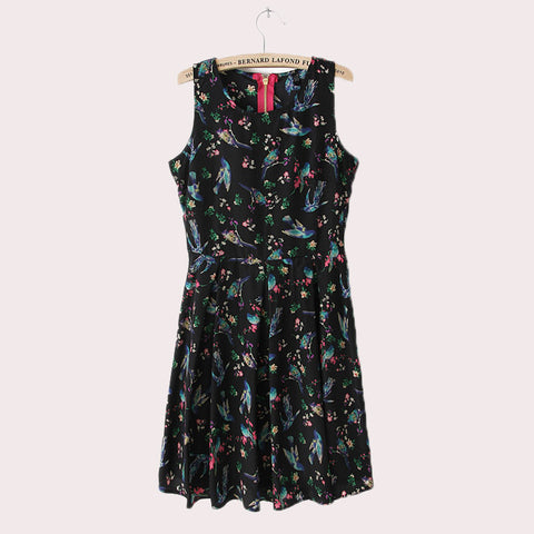 Flower Design Dress