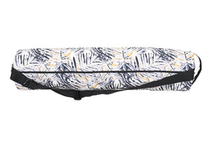 Canvas Yoga Mat Bag - Mono Palm Print