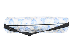 Canvas Yoga Mat Bag - Boa Print