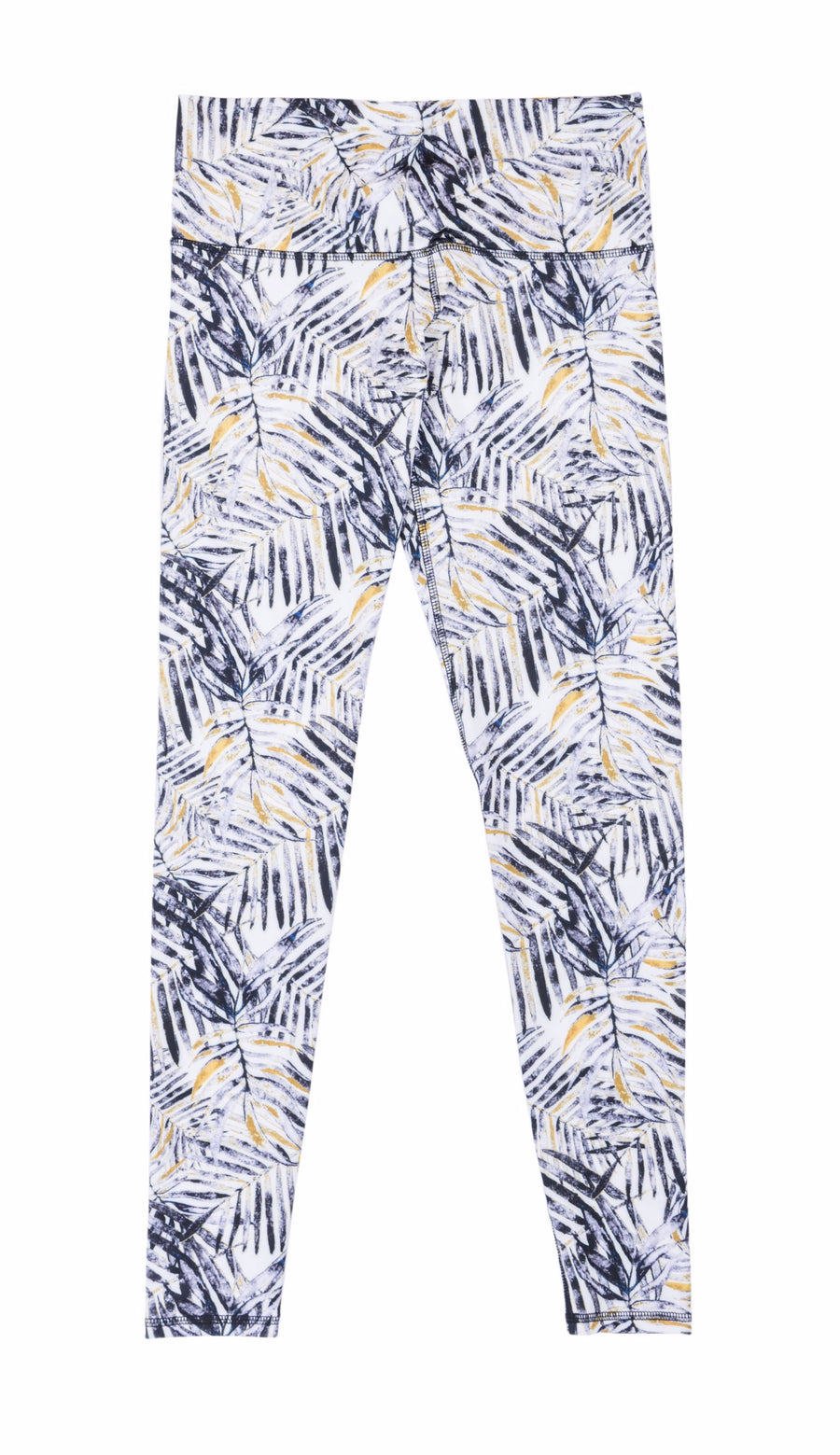 tropical print yoga legging