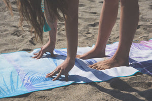 Tropical Palm Yoga Mat ©
