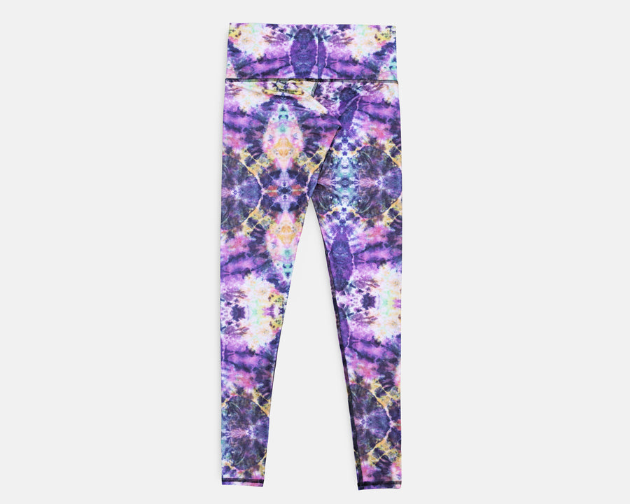 Charly Legging in Acid Cloud Print