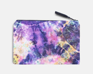 Canvas Workout Pouch - Acid Clouds Print