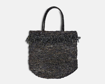 Amber Beach Bag - Black