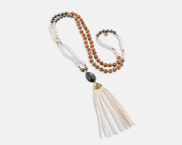 Aurora Mala Prayer Necklace